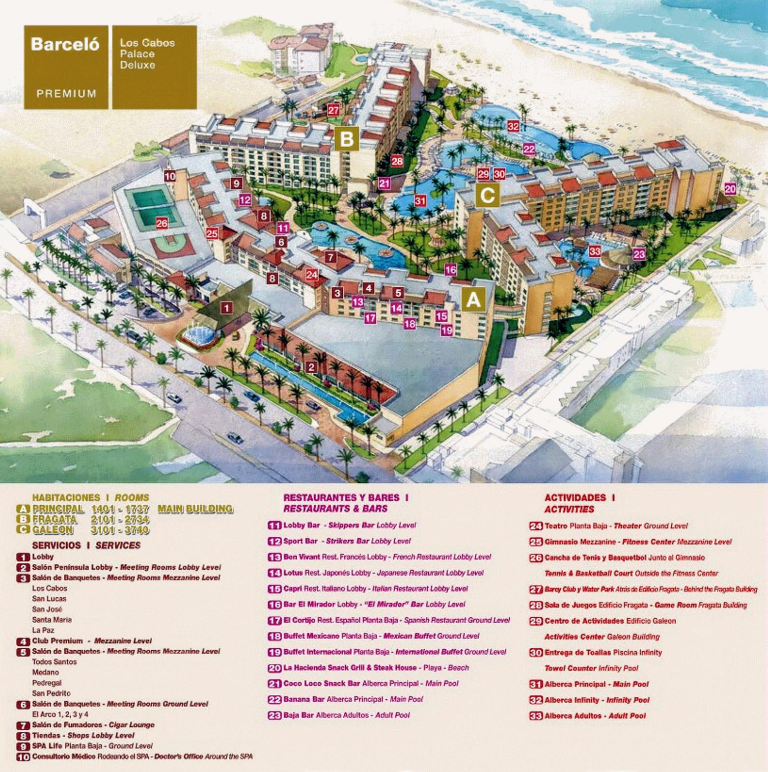 Popular 174 List Los Cabos Hotel Map
