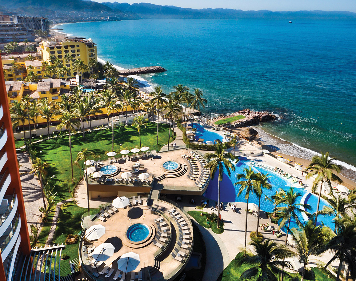 Sunset Plaza Beach Resort Spa Puerto Vallarta Transat