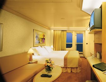 Carnival Glory - Cabin with Balcony - Category 8B
