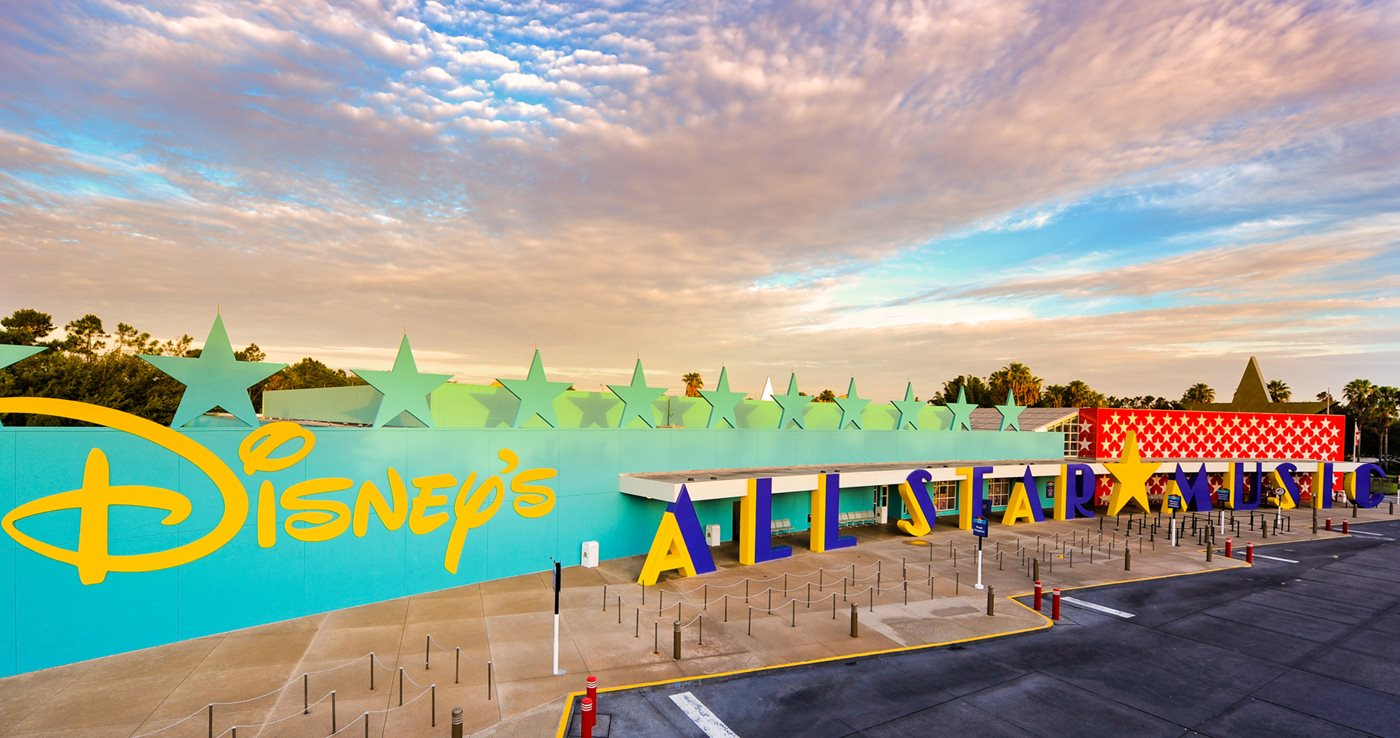Disney S All Star Music Resort Orlando Transat