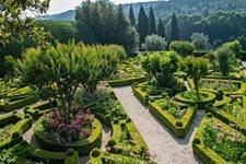 jardin du palais de Mateus