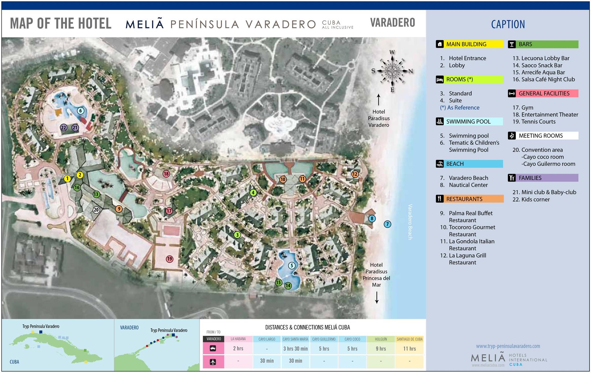 Melia Peninsula Varadero Transat Destino Beach Cuba