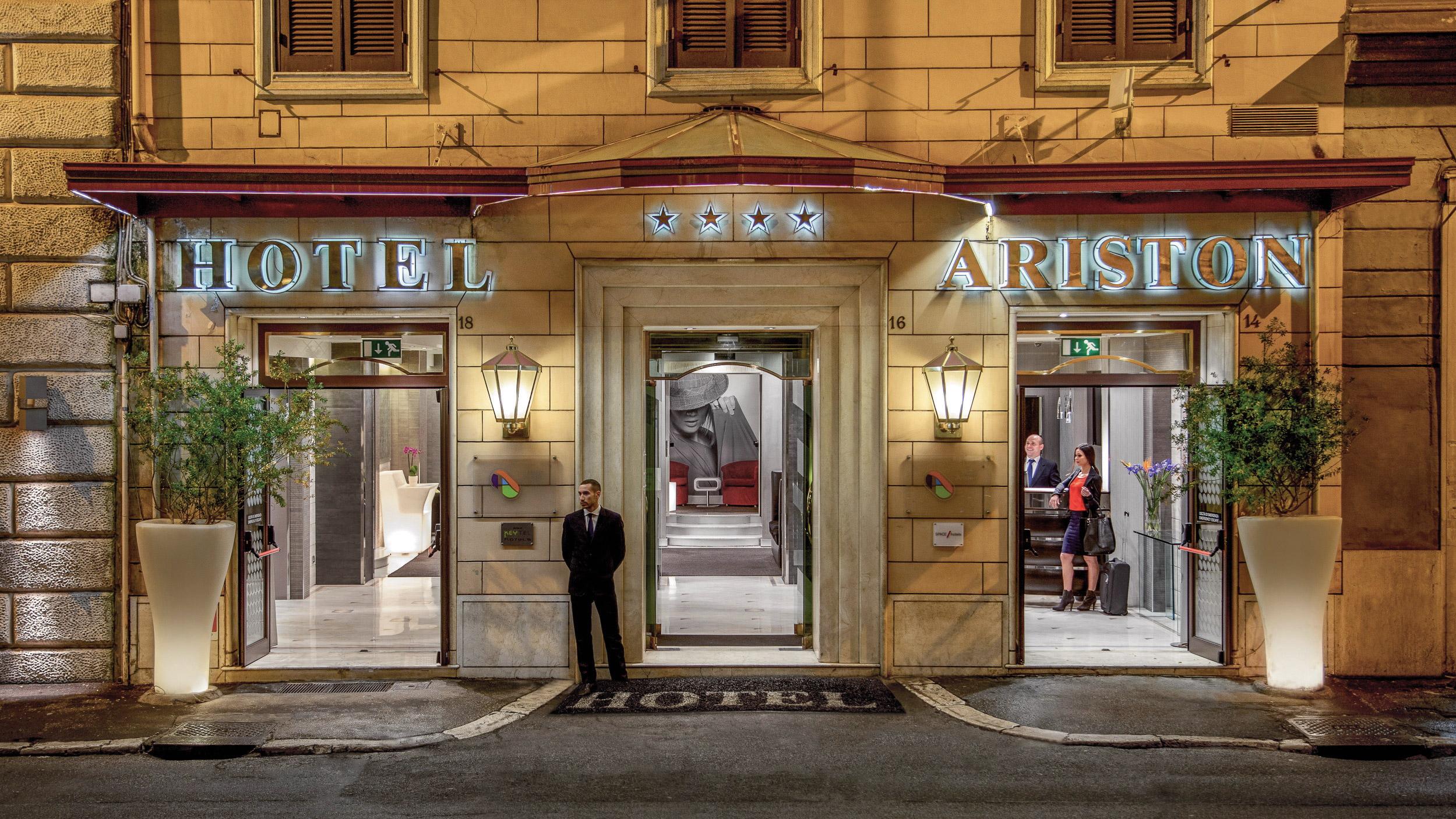 Ariston Hotel Rome Booking