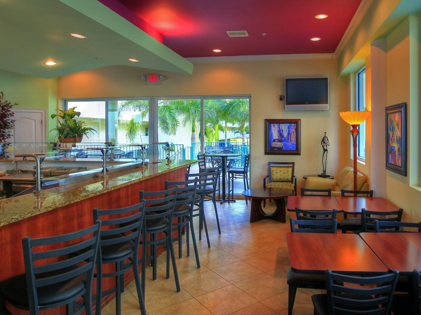 Restaurants and bars  Sunset Vistas Beachfront Suites