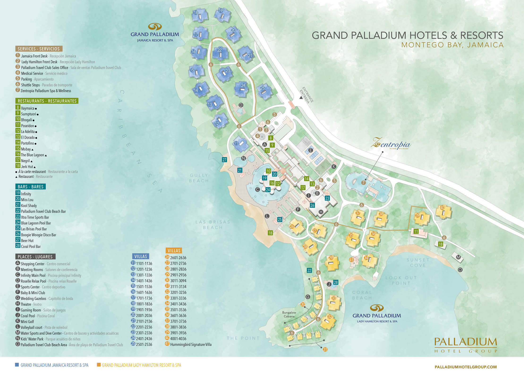 Grand palladium jamaica resort spa lucea transat