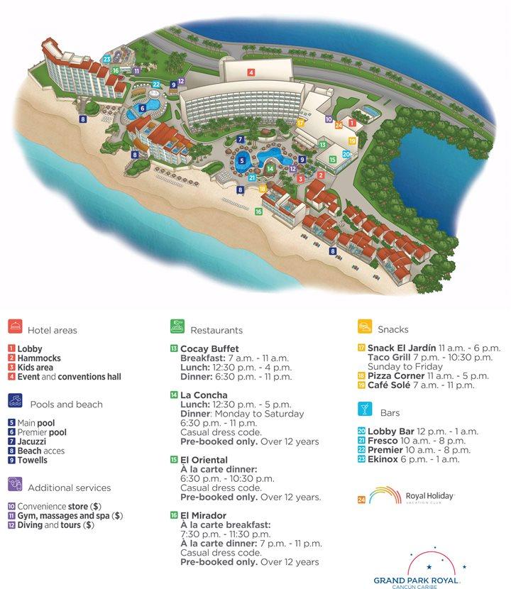 Grand Park Royal Luxury Resort Cancun - Cancun | Transat on