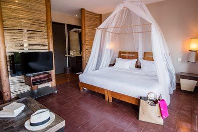 Cap est lagoon resort spa fort de france transat for Lamantin materassi