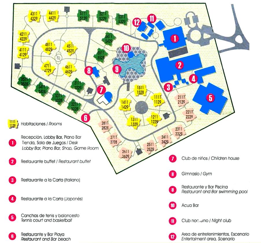 Résultats de recherche d'images pour «hotel playa costa verde plan»