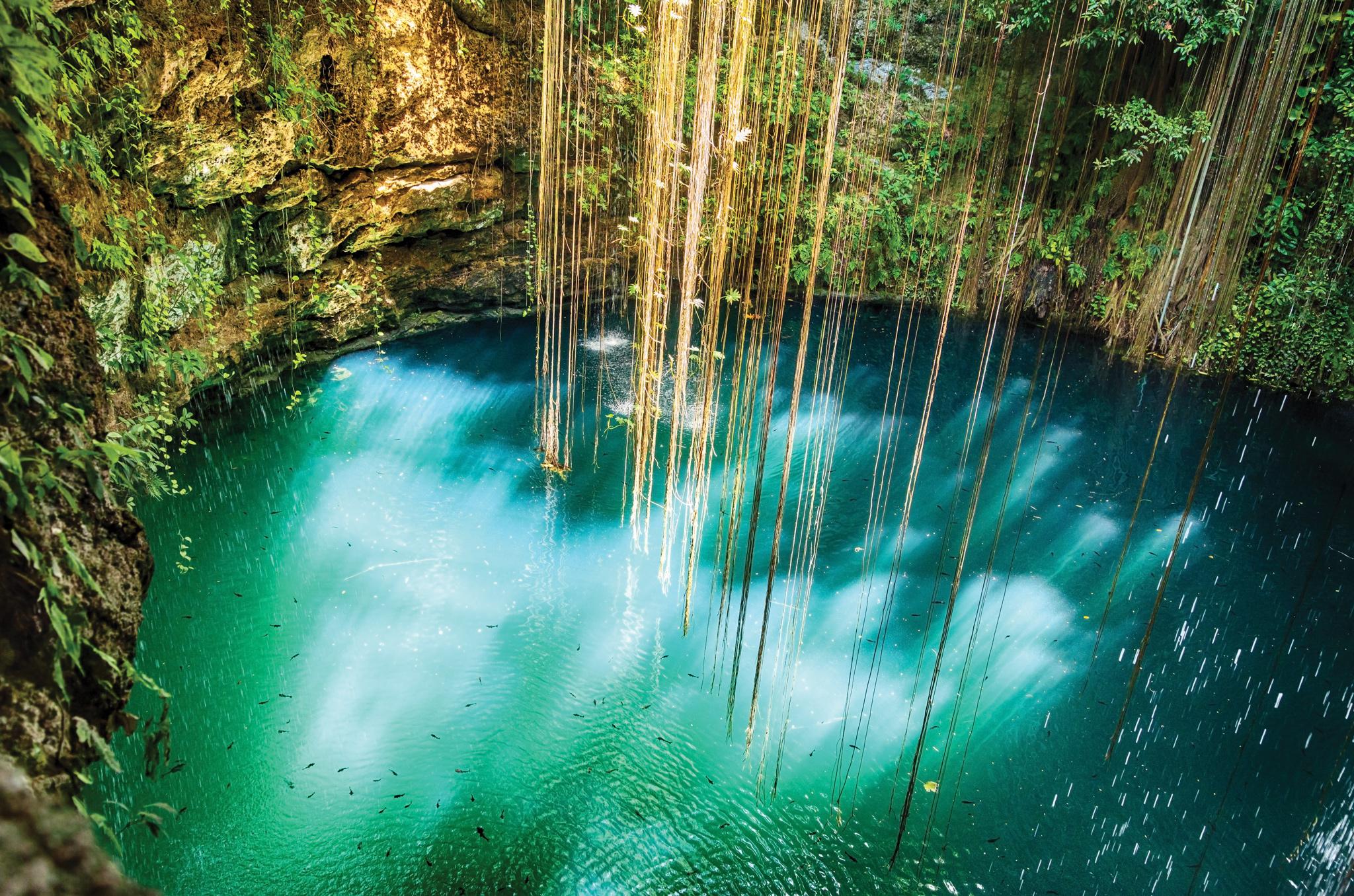 Ek Balam Cenotes Maya Cancun Transat