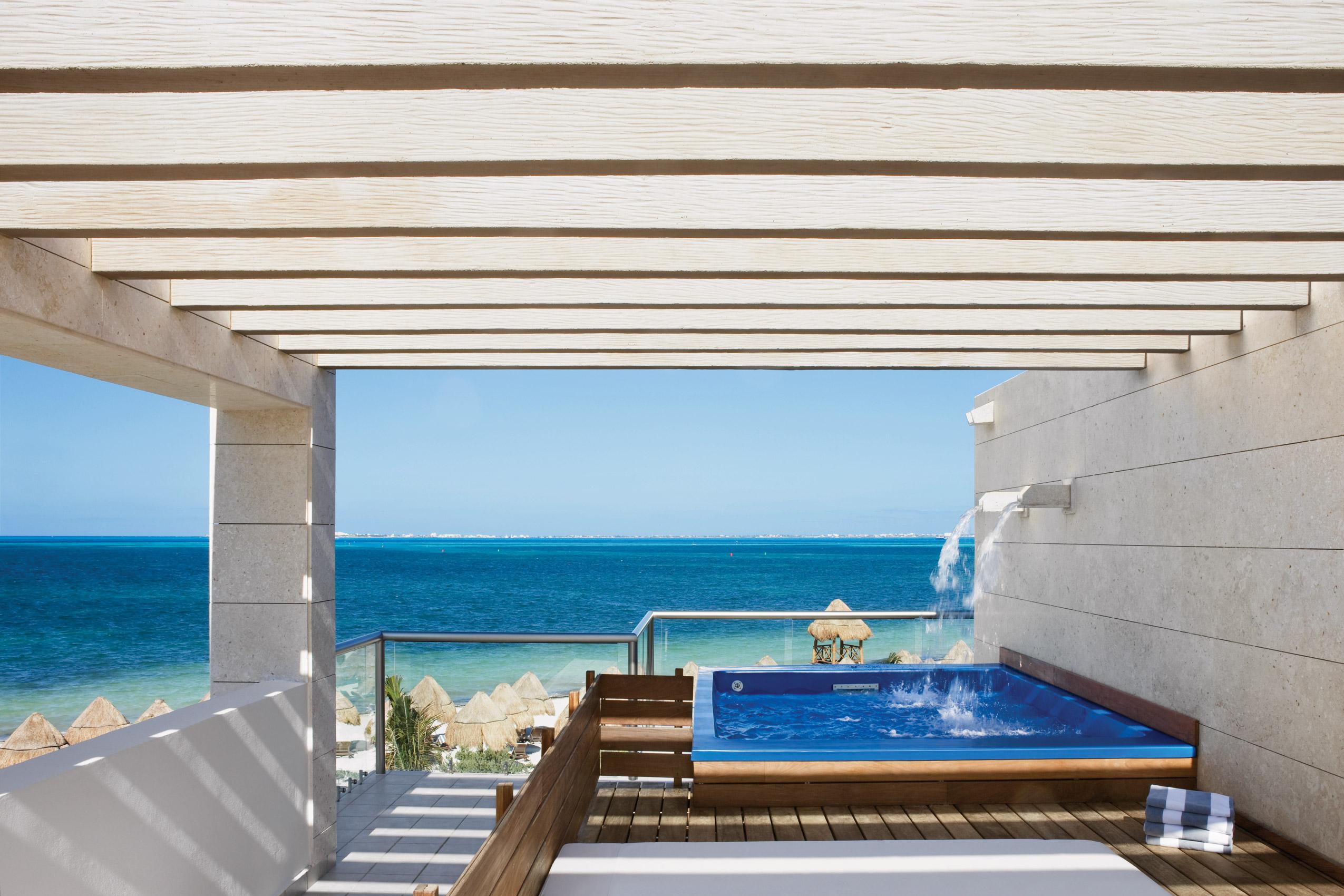 Beau Suite Casita 2 étages Face à La Mer Avec Petite Piscine