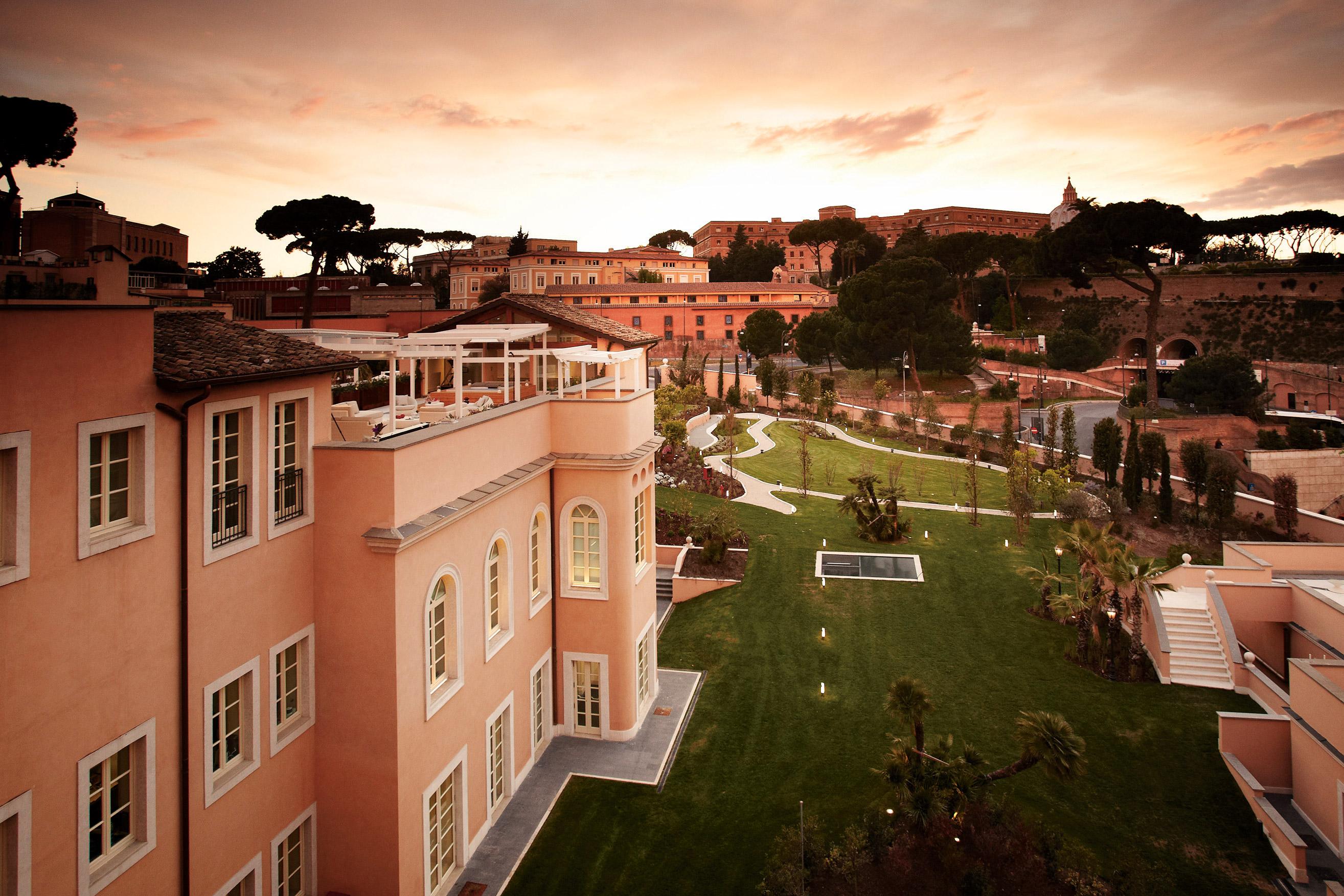Gran Melia Rome Villa Agrippina Rome Transat
