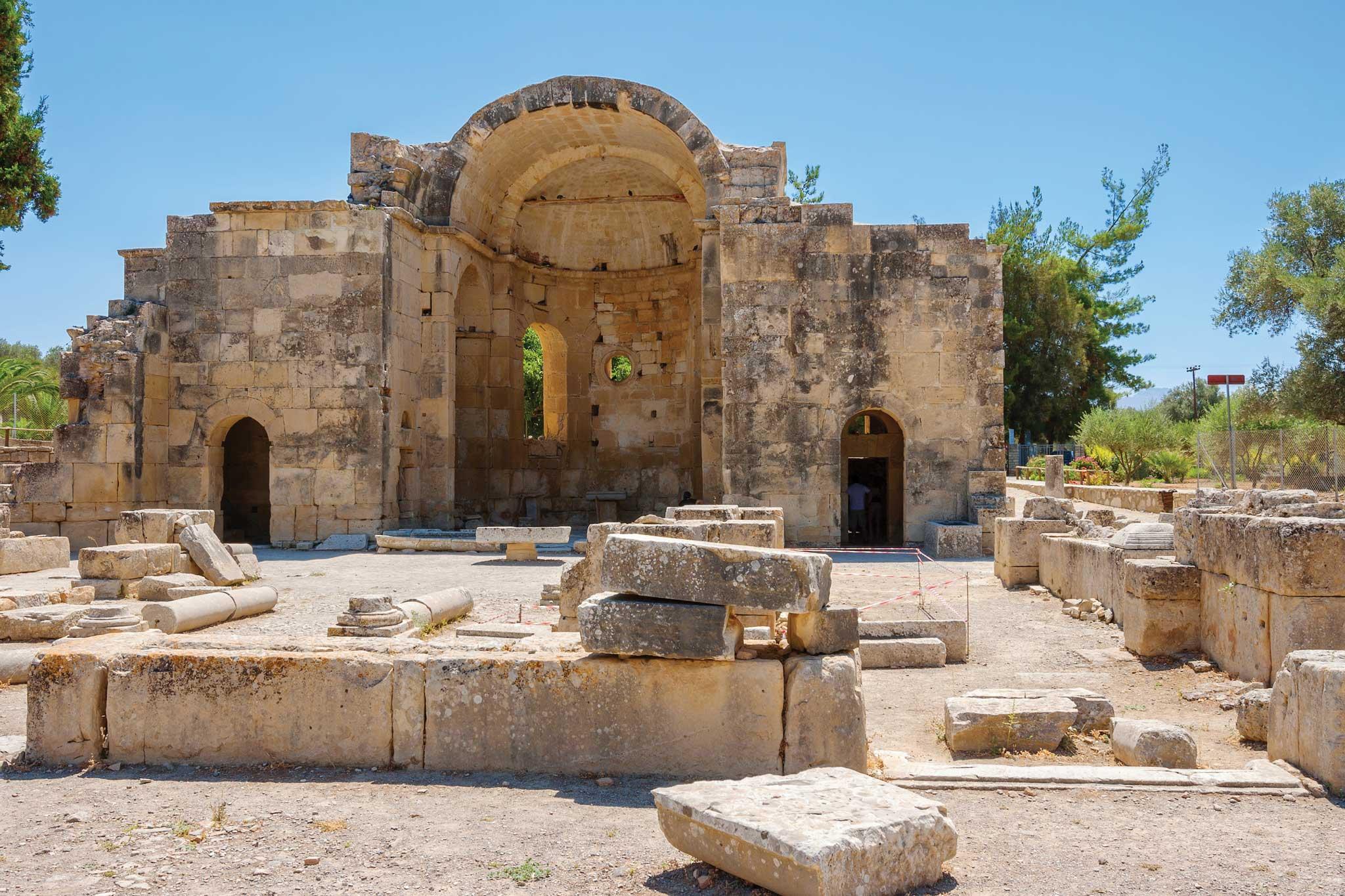 Knossos Amp Heraklion Crete Transat