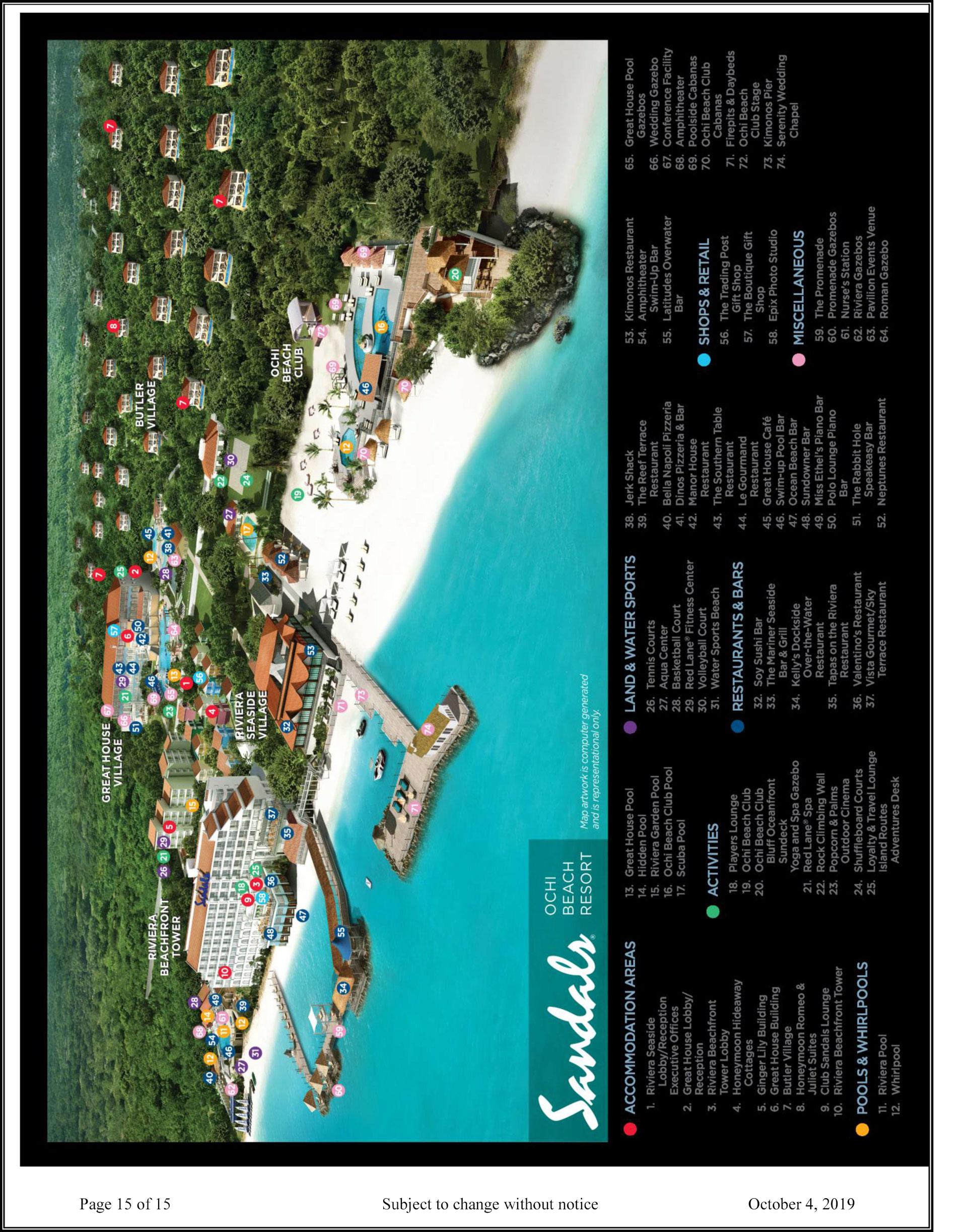 Sandals Ochi Beach Resort  Ocho Rios  Transat