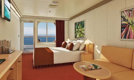 Carnival Magic - Cabin with Balcony - Category 8B