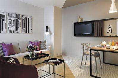 Apart 39 hotel citadines opera paris transat for Apart hotel citadines