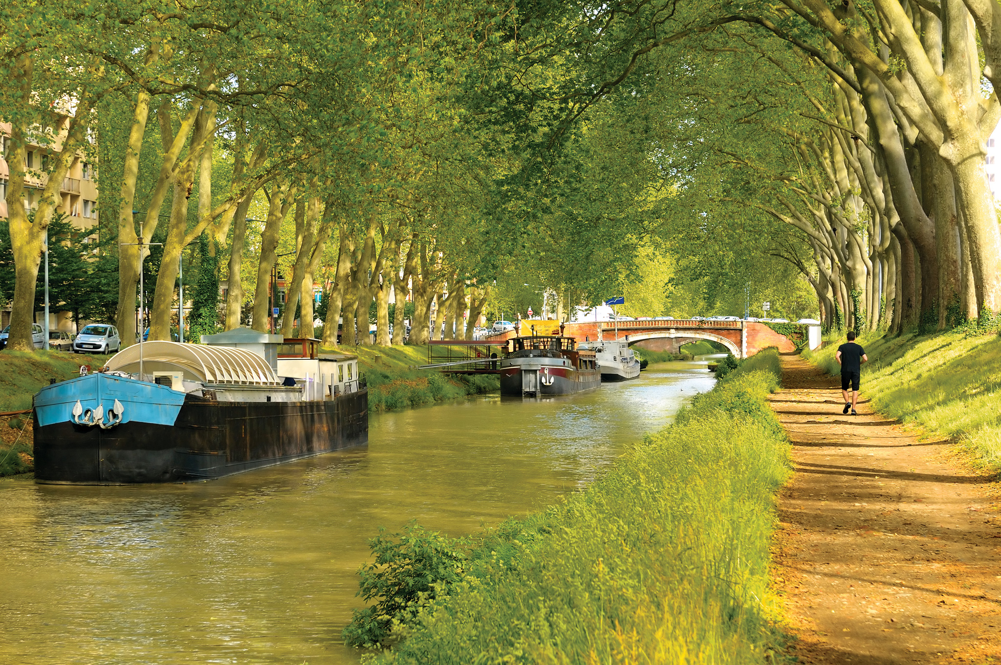 cycling canal du midi toulouse transat. Black Bedroom Furniture Sets. Home Design Ideas